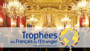 Capture d'écran de la page internet consacrée aux trophées des français de l'étranger.
