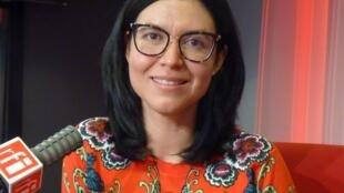 La escritora mexicana Mónica Rojas en RFI