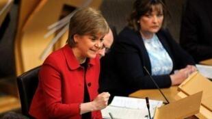 Primeira - ministra escocesa, Nicola Sturgeon