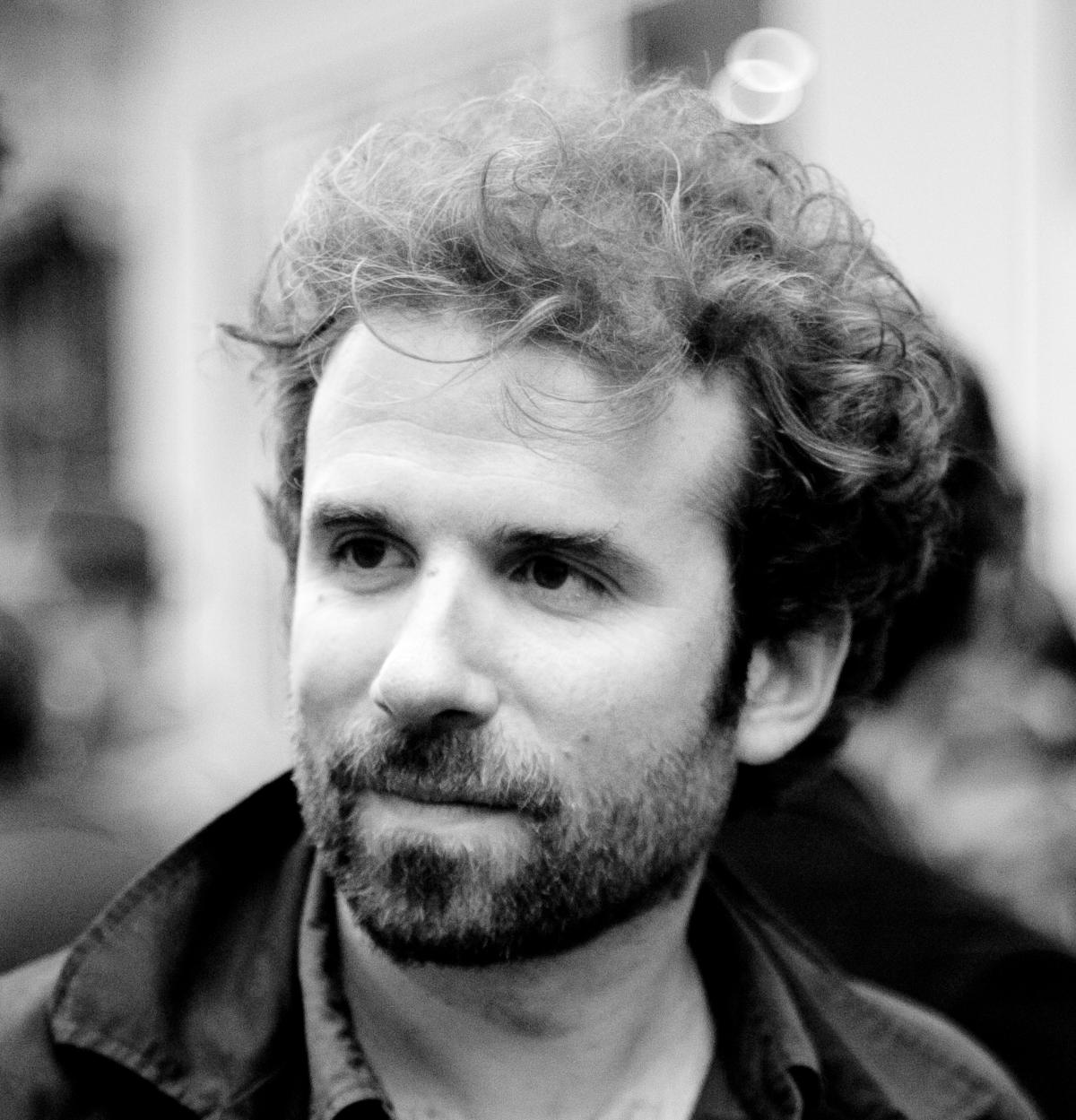 Cyril Dion, le 27 mai 2014, lors de la soirée de lancement du crowdfunding du film «Demain».
