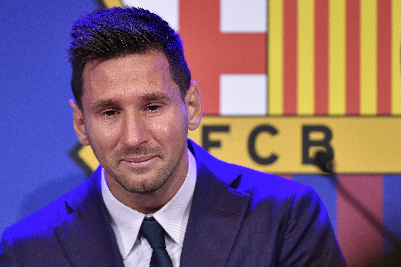 El argentino Lionel Messi en Barcelona, España, el 8 de agosto de 2021