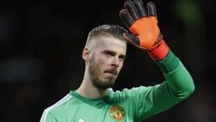 Mai tsaron ragar kungiyar kwallon kafa ta Manchester United David De Gea.