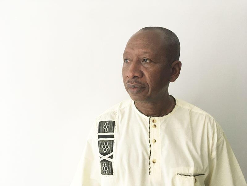 Fallo Baba Keita, spécialiste de l'art africain.
