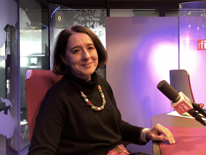 Ольга Медведкова в студии RFI