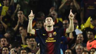 Depuis janvier 2011, la Fondation du Qatar est le sponsor du FC Barcelone de Lionel Messi.