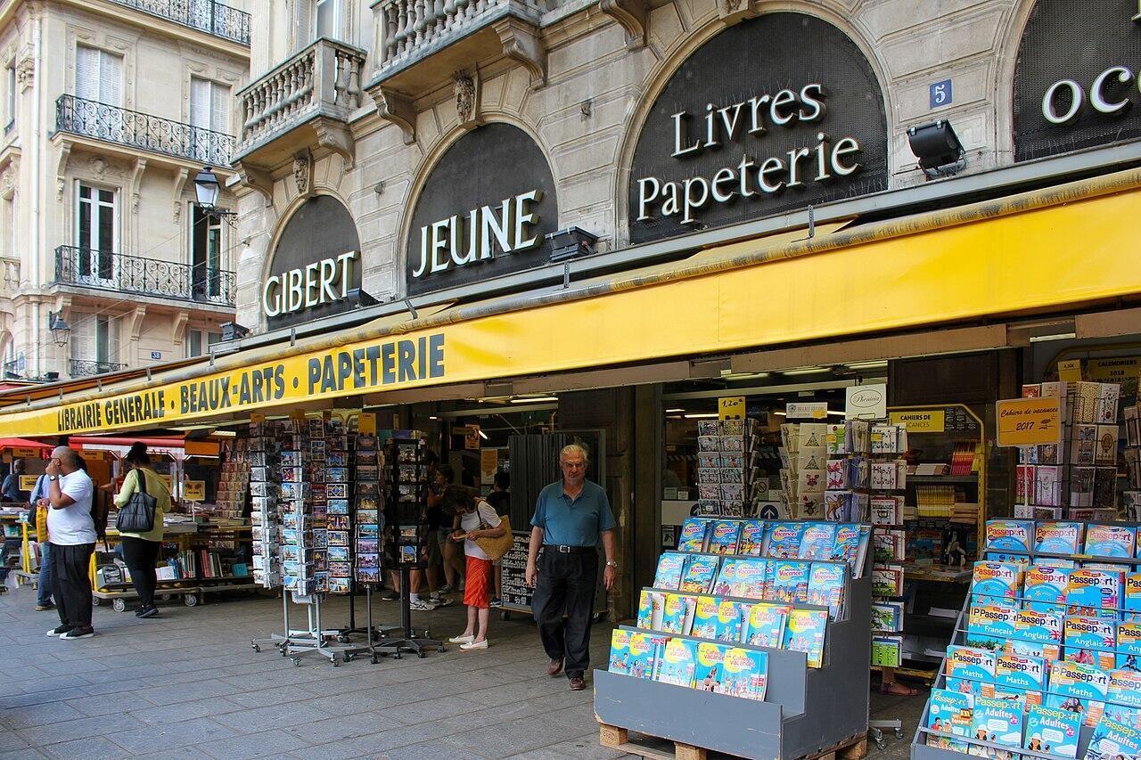 Gibert Jeune Paris Librairie