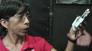 La periodista Regina Martínez, corresponsal de la revista El Proceso en Veracruz una de las últimas víctimas de la violencia contra la prensa en México
