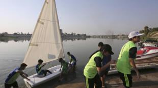 Irak - Bagdad - sport nautique - voile