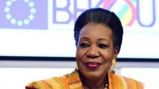 Rais wa serikali ya mpito ya Jamhuri ya Afrika ya Kati, Catherine Samba-Panza