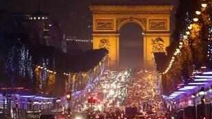 Arco do Triunfo receberá projeções pouco antes da virada do ano