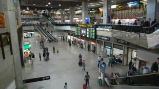 El Aeropuerto Internacional de Guarulhos, en São Paulo (Brasil).