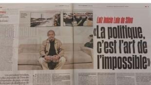 O jornal francês Libération publicou matéria de capa sobre o ex-presidente Luís Inácio Lula da Silva.
