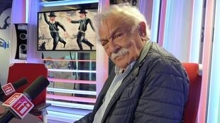 Antonio Seguí en los estudios de RFI