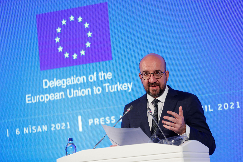 TURKEY-EU - Charles Michel