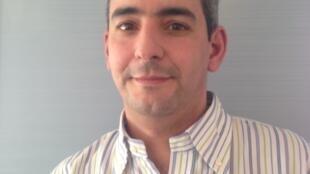 Guillaume Cabanes, secretário-geral do Instituto Iridice, aqui na França