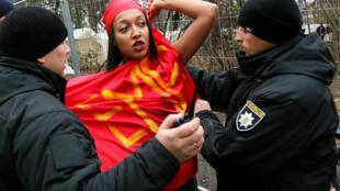 تظاهرات فمینیستها در اوکراین