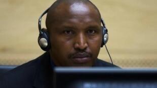 Bosco Ntaganda, en février 2015 devant la CPI.