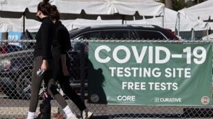 Centre de test du Coronavirus (image d'illustration).