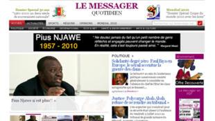 L'hommage de son journal à Pius Njawé, fondateur du quotidien camerounais le Messager, décédé lundi 12 juillet 2010 aux Etats-Unis.