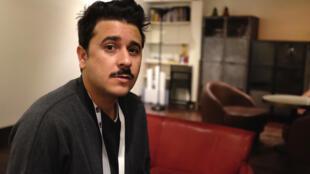 Faycal Hammoum, le réalisateur algérien de « Vote off » au Festival Cinéma du réel à Paris.