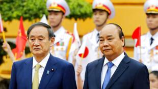 Japon - Vietnam - Suga - Nguyen Xuan Phuc