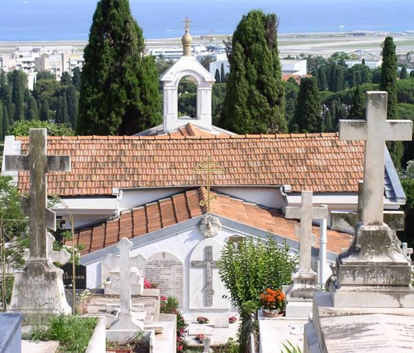 Русское кладбище Кокад в Ницце