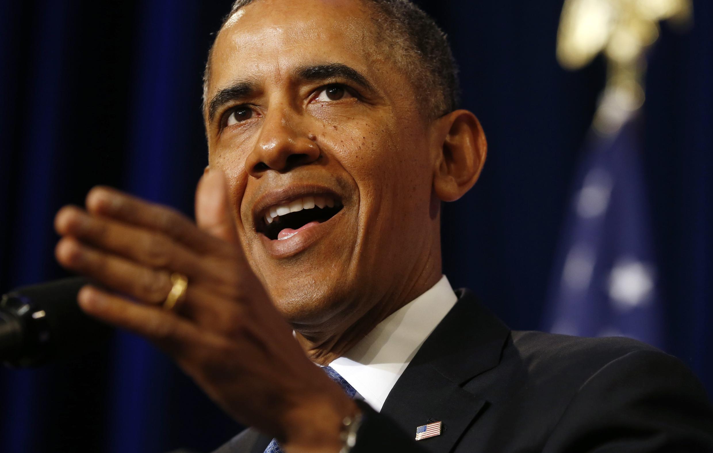 O presidente americano, Barack Obama.