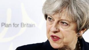 英國首相特蕾莎梅呼籲蘇格蘭不要在英國脫歐的關鍵時刻舉行脫英公投