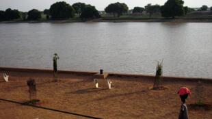 Podor (Sénégal) et son fleuve.