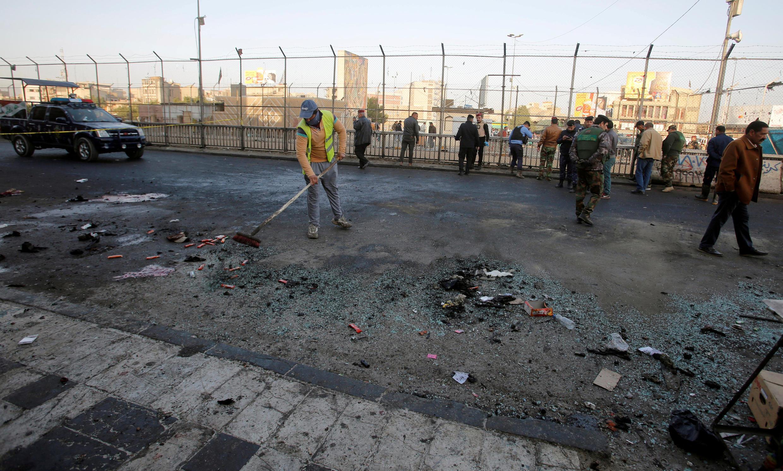 Uharibifu unaoendelea kufanywa na kundi la Islamic State nchini Iraq.
