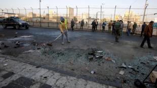 伊拉克巴格达2018年1月15日遭恐怖炸弹袭击