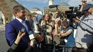 Журналисты  охотятся за главой Чечни
