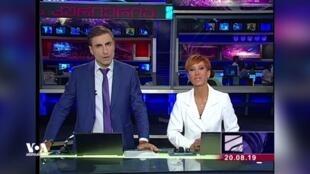 Ведущие информационного выпуска Михаил Сесиашвили и Диана Джоджуа объявили о своем уходе из «Рустави 2» в прямом эфире