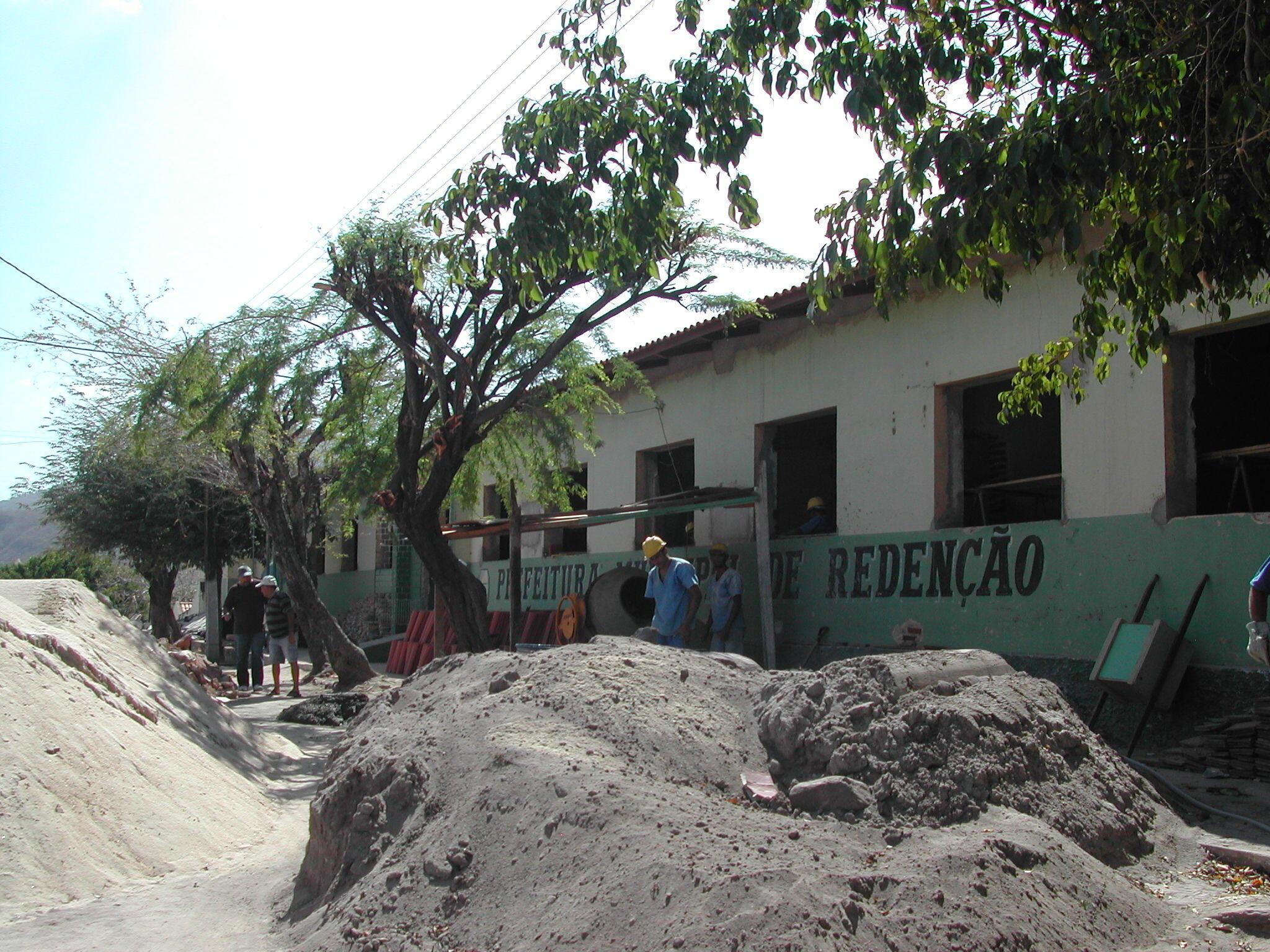 As obras do Campus provisório da UNILAB em Redenção devem ser concluídas em dezembro 2010