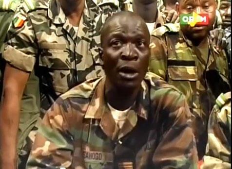 Kiongozi wa Jeshi lililopindua Serikali ya Mali, Kapteni Amadou Sanogo
