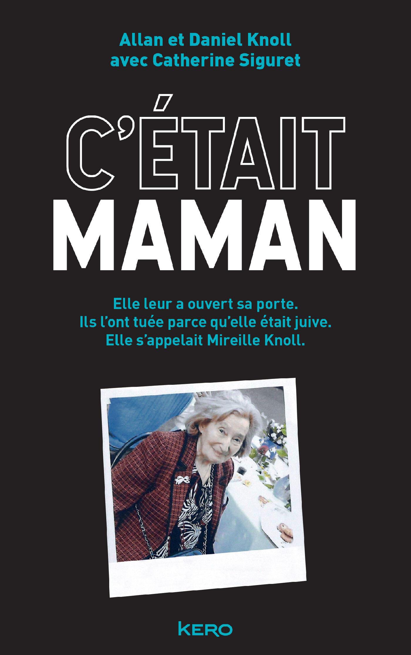 """Couverture du livre """"Cétait maman"""" de Daniel et Allan Knoll"""
