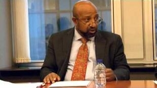 Berhanu Nega, leader of Patriotic Ginbot7 group