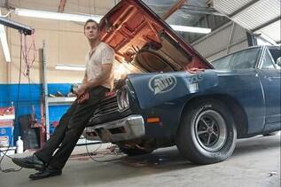 "Ryan Gosling interpreta o motorista de ""Drive""."
