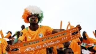 Les supporters ivoiriens étaient «fiers» de leur équipe.