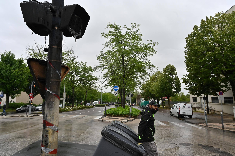 В дижонский квартал Грезий во вторник и среду вернулось спокойствие