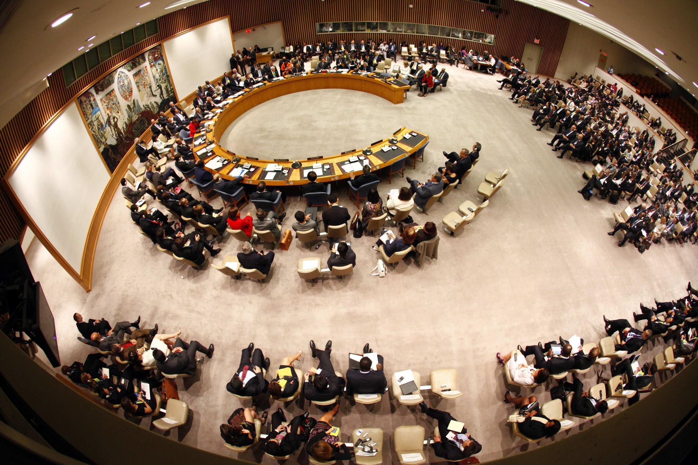 Зал заседаний Совета Безопасности ООН