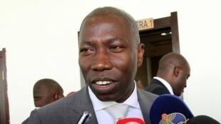 Domingos Simões Pereira, líder do PAIGC, na maioria no Parlamento guineense.