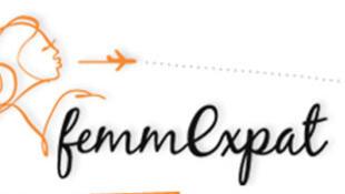 Logo du site « femmexpat »