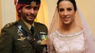 Masacɛ Hamza, Jordanie masacɛ Abdallah balimacɛ, n'a furumuso Basma, u ka furusiri ja dɔ janvier kalo, san 2012.