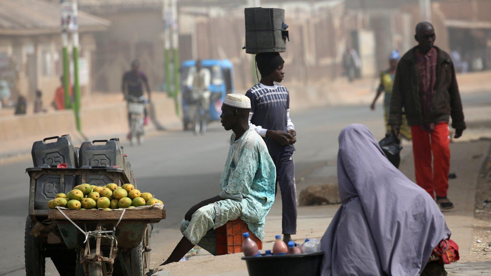 Wasu masu sana'o'i a jihar Kano dake arewacin Najeriya.