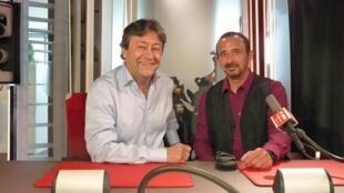 Juan Ramos y Jordi Batallé en RFI