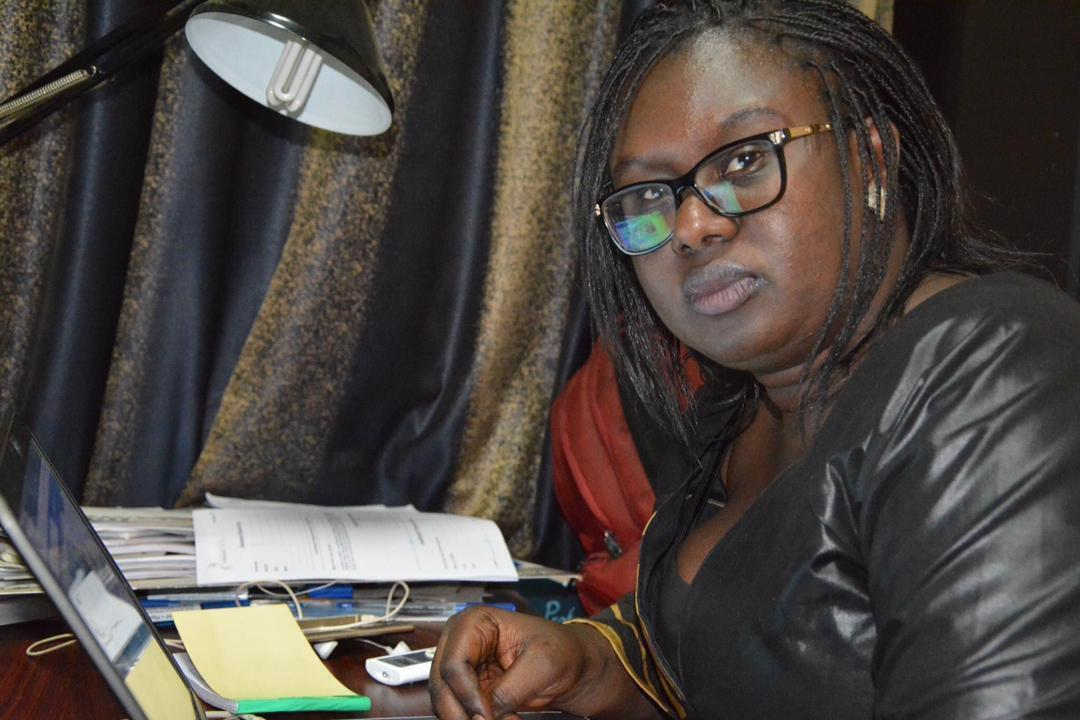 """Mariam MAIGA, kunnafonidila """"Studio Tamani"""" na, Mali la."""