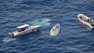 13 avril 2016, à 250 km au large de la frontière équato-colombienne. La marine militaire colombienne arraisonne un semi-submersible chargé de 5,8 tonnes de drogue.