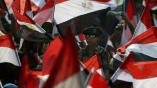 Plusieurs dizaines de milliers de personnes ont répondu à l'appel à manifester en faveur du pouvoir égyptien, ce samedi au Caire.