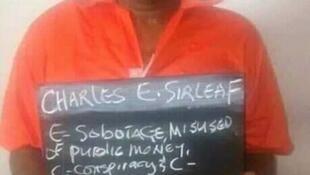 Arrest of Charles Sirleaf